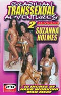 Brazilian Transexual Adventures 2 Cover